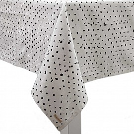 Mantel Dots Irregulares - Negros